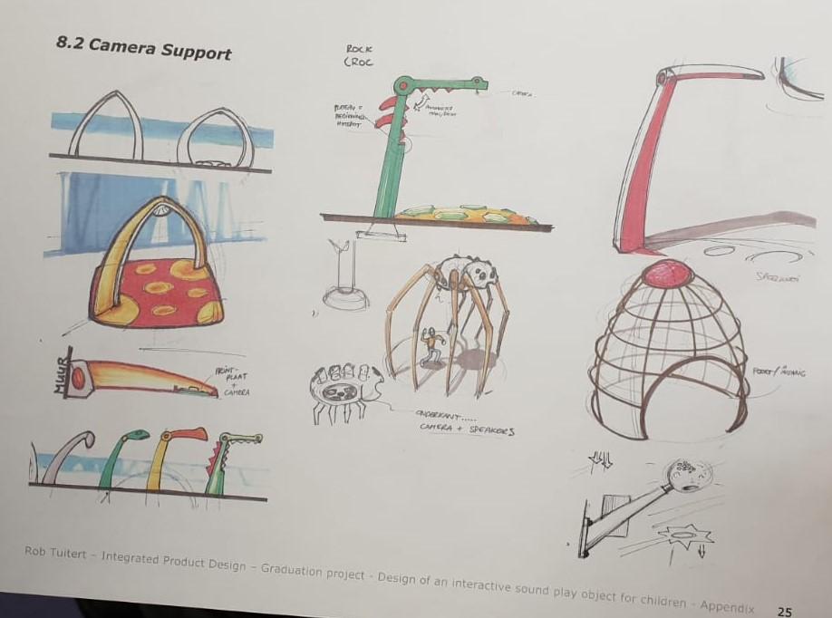 Yalp Sona - Erste Entwürfe für den Bogen