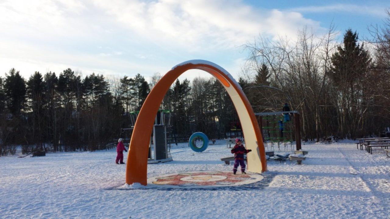 Yalp Sona Interaktiver Spielbogen | Bergvretenskolan, Schweden