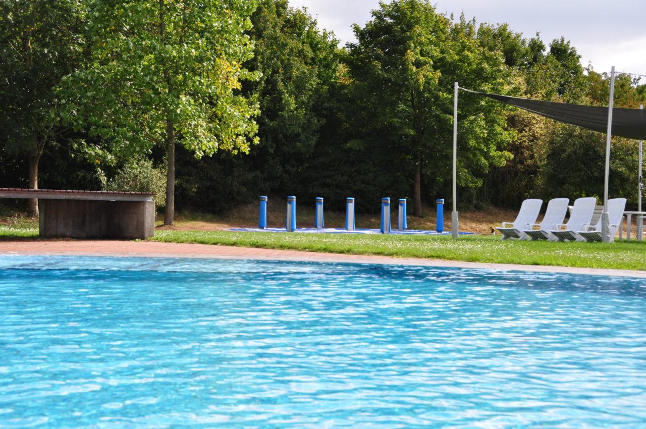 Yalp Memo - Spielsäulen beim Arobella Schwimmbad