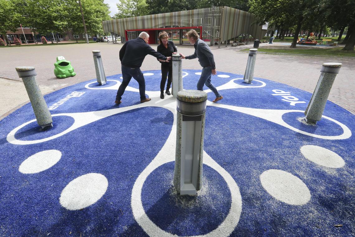 Einzigartiges Recycling-Spiel & ein recyceltes Yalp Memo im Stadskanaal (Niederlande)