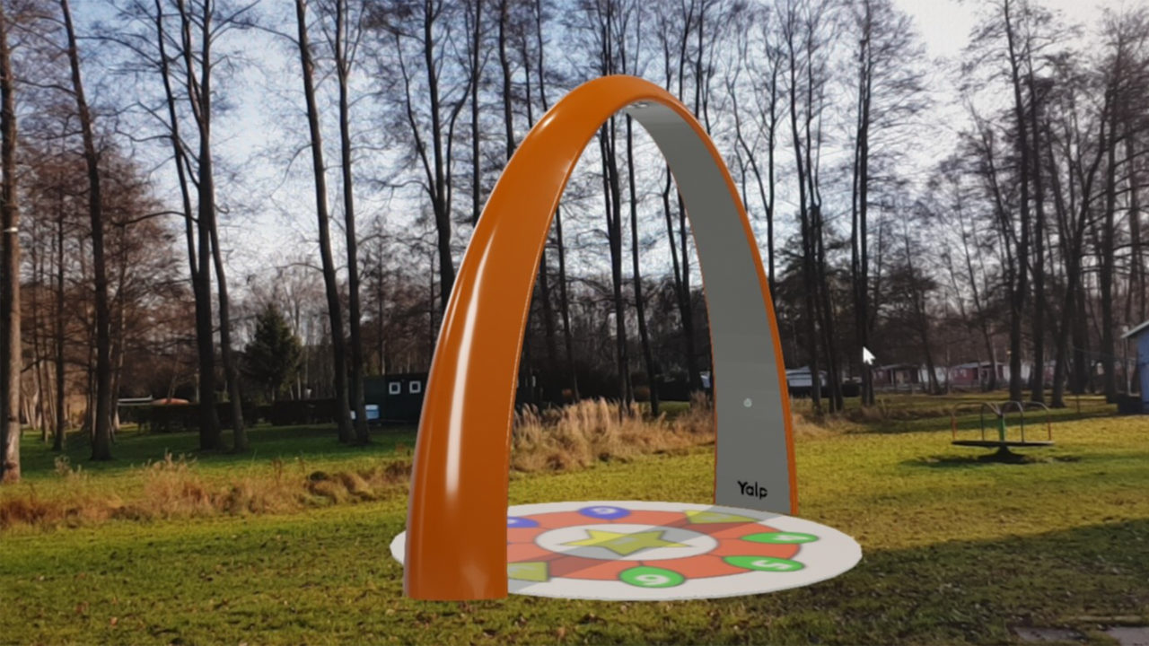 Yalp Sona - Spielbogen in 3D