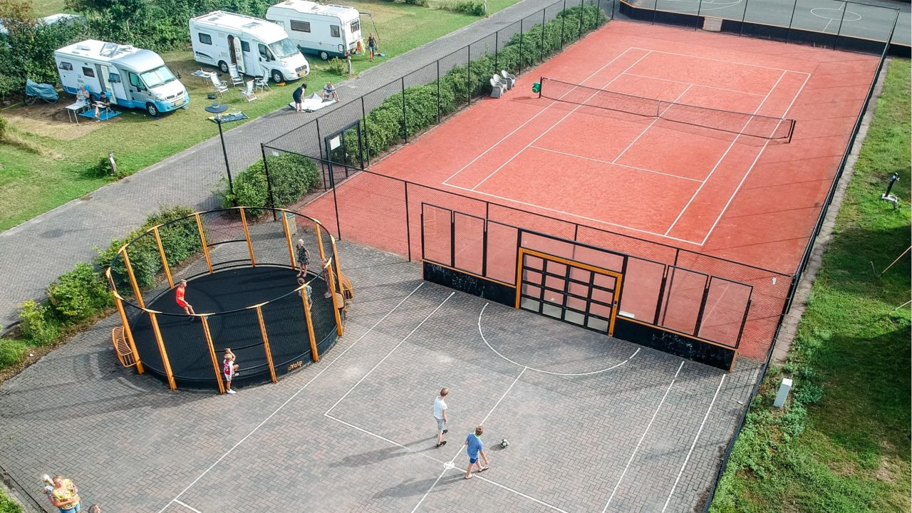Yalp Sutu - Fußballwand - Campingplatz de Boshoek (NL)