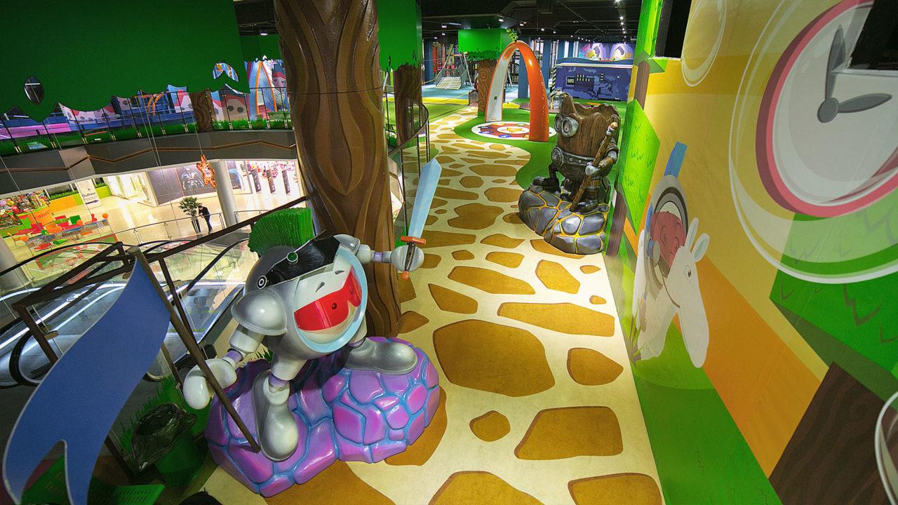 Lappset Creative - Indoor Spielplatz GameSation