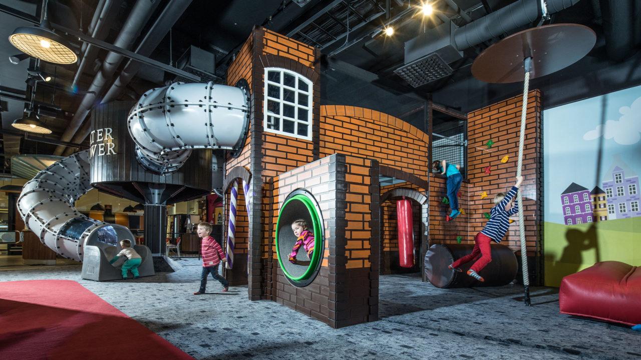 Lappset Creative - Indoor Spielplatz im Einkaufszentrum