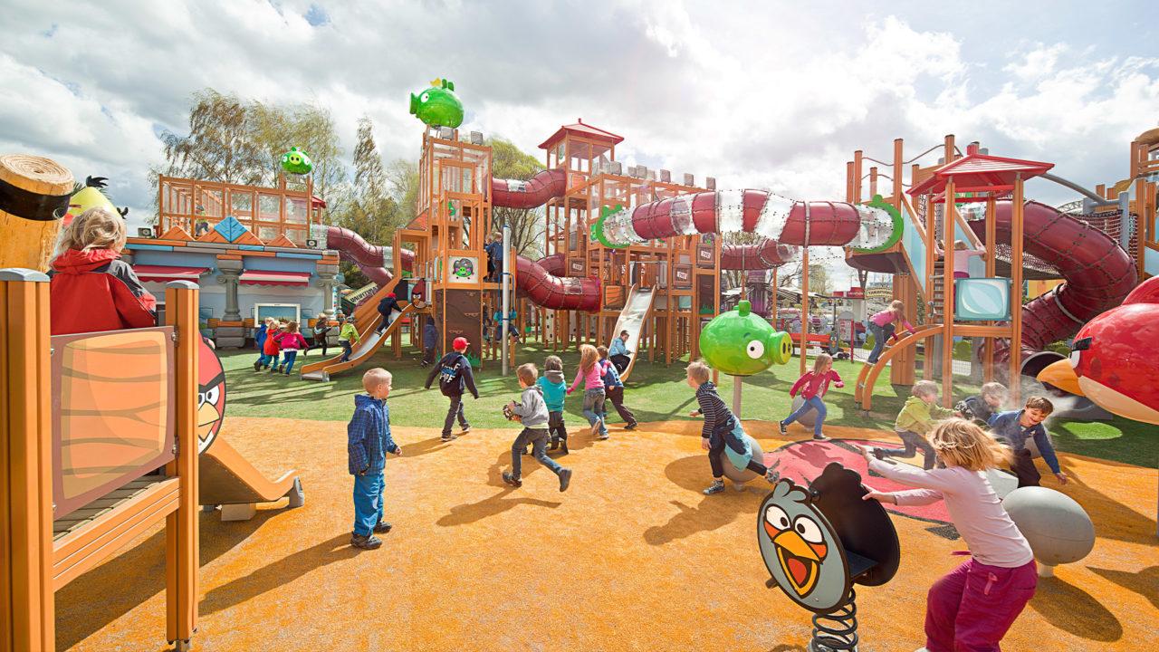 Lappset Creative - Outdoor Projekt mit Angry Birds