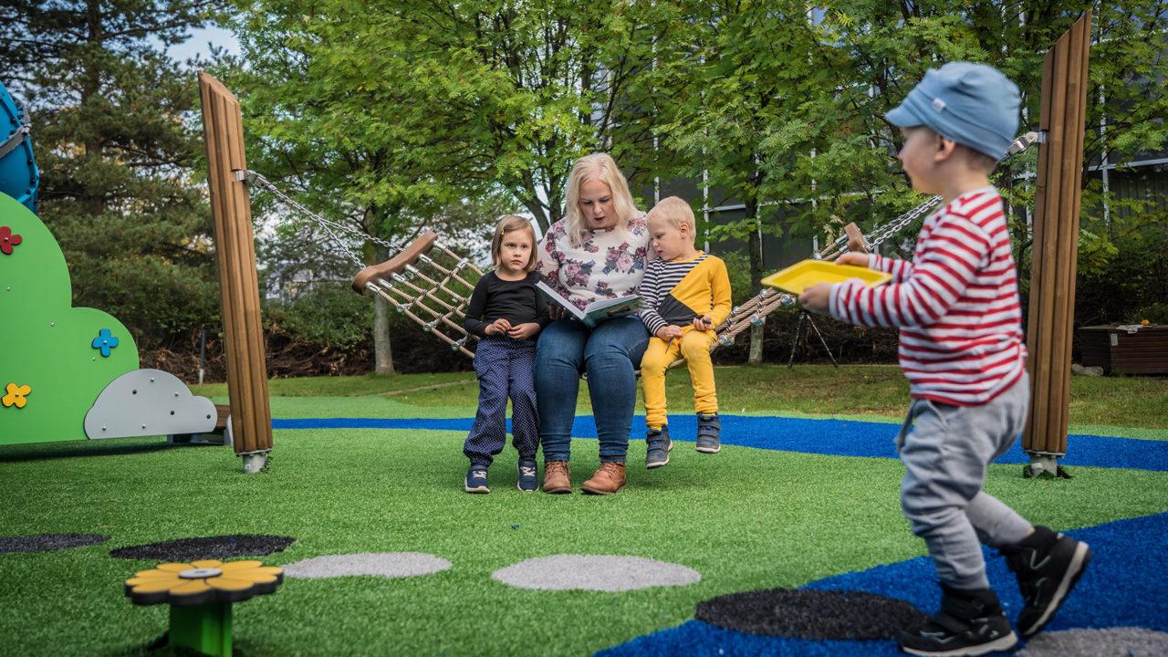 Lappset - Mumin Spielplatz - Geschichten aus dem Mumintal