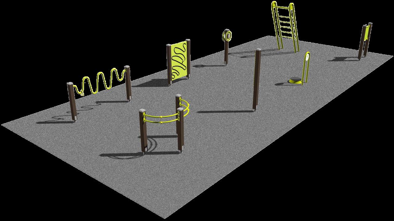 Lappset Seniorensport -  beispielhaften Seniorensportpark - Mobilität und Gelenke