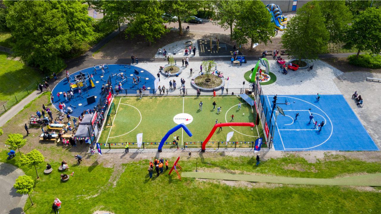 Lappset - Sportplatz Voorburg