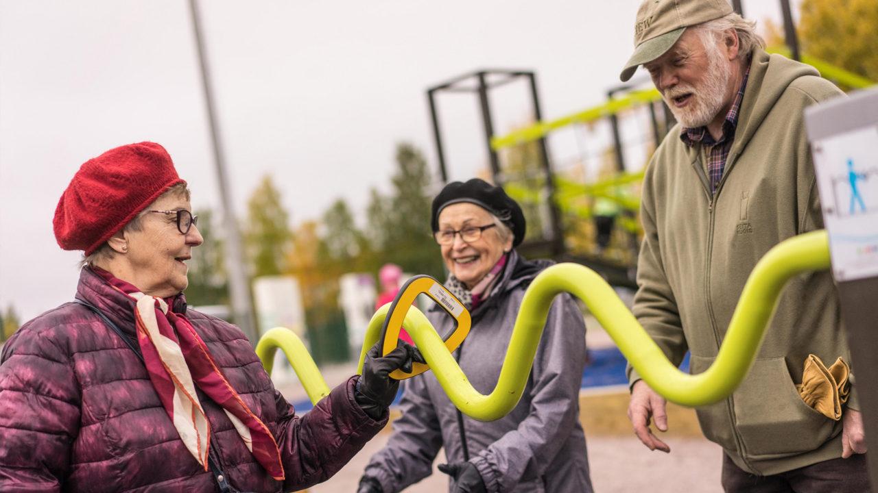 Seniorensport mit Lappset Sportgeräte