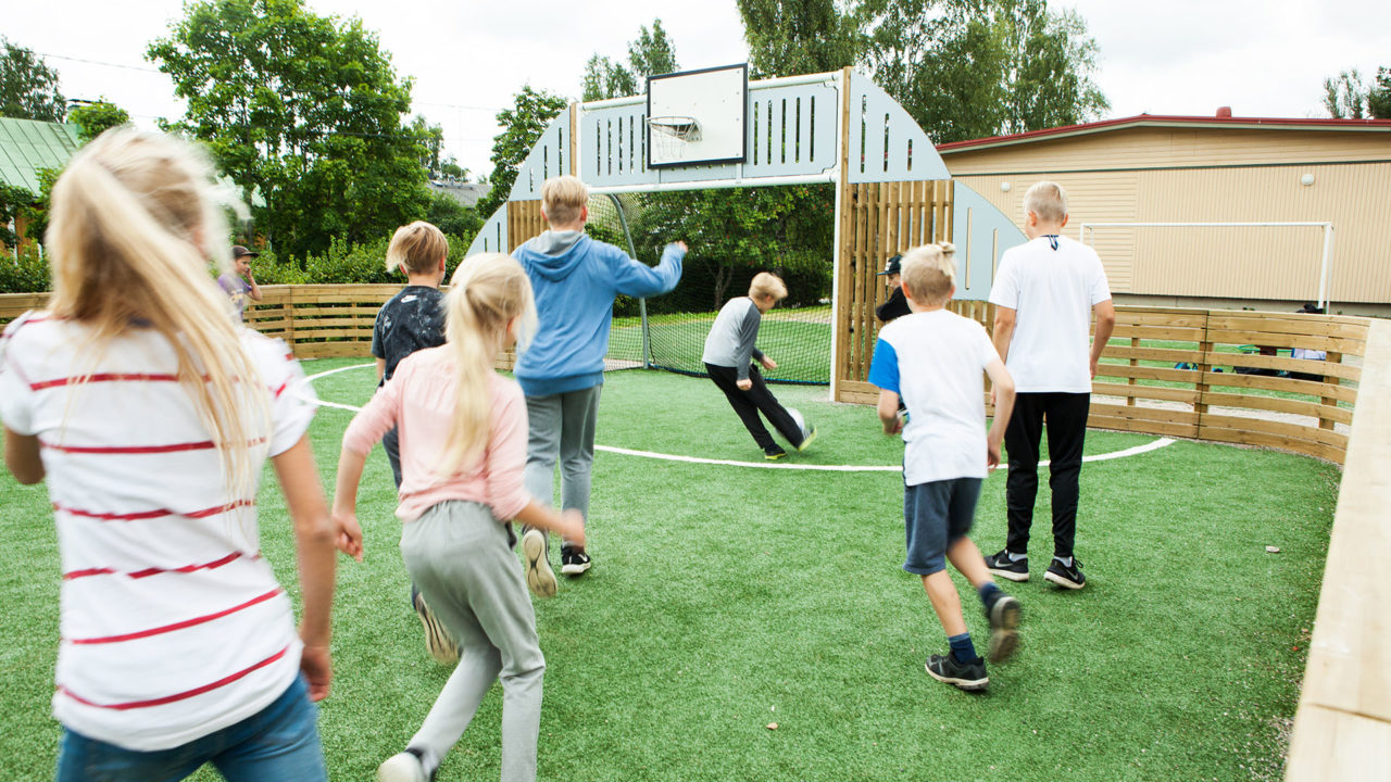 Lappset Sportplatz - Fußball