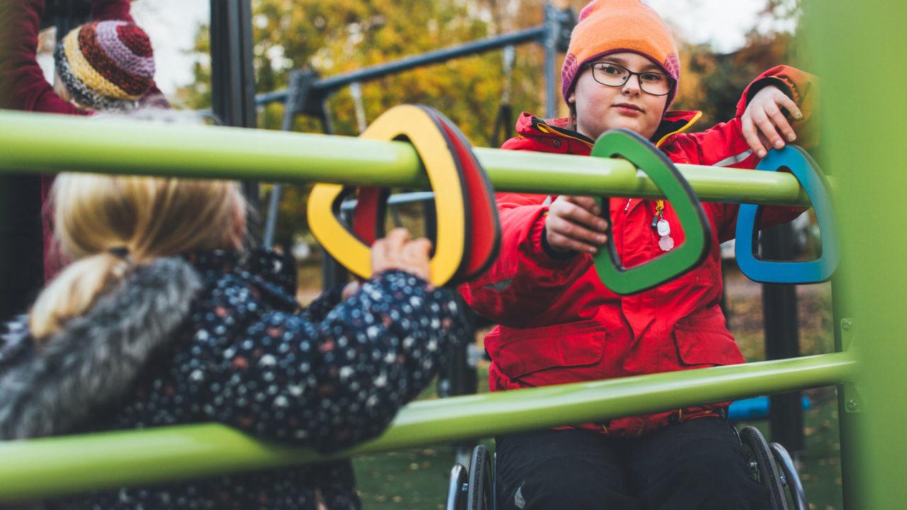 Lappset Finno - Inklusion auf dem Spielplatz