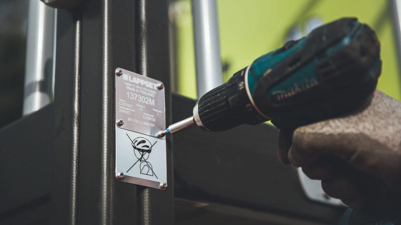 Lappset - Lieferung, Montage und Wartung