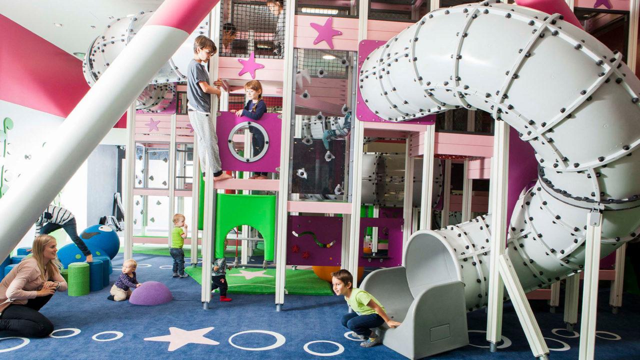 Ein Spielplatz nach dem Wunsch des Kunden