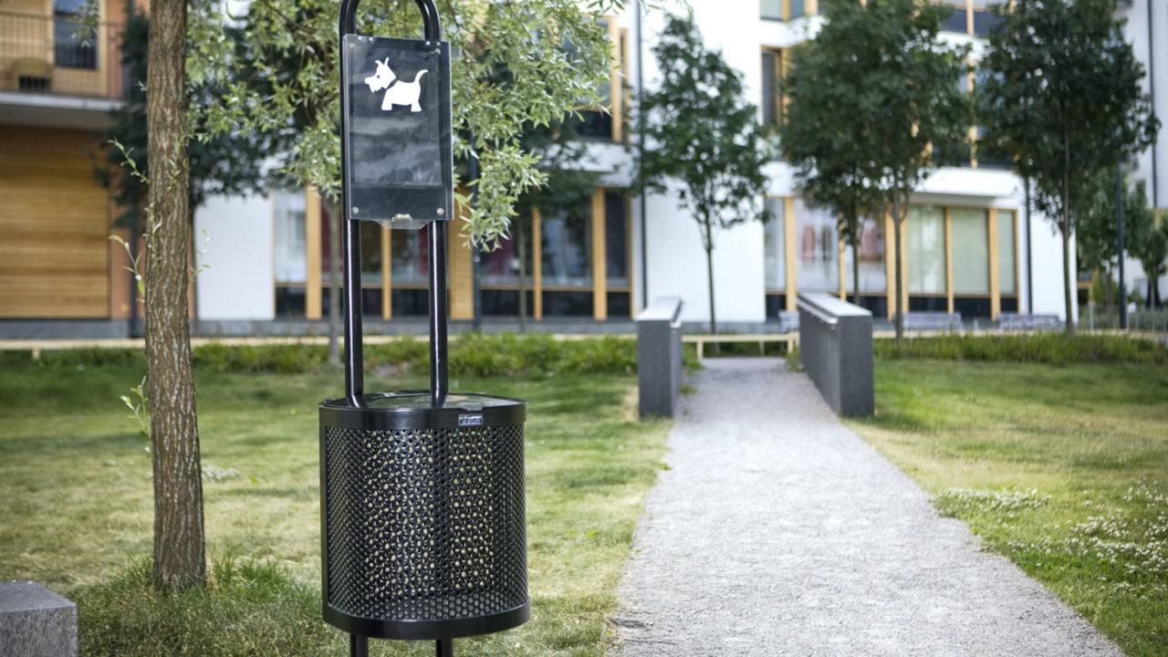 Lappset Park - Mülleimer
