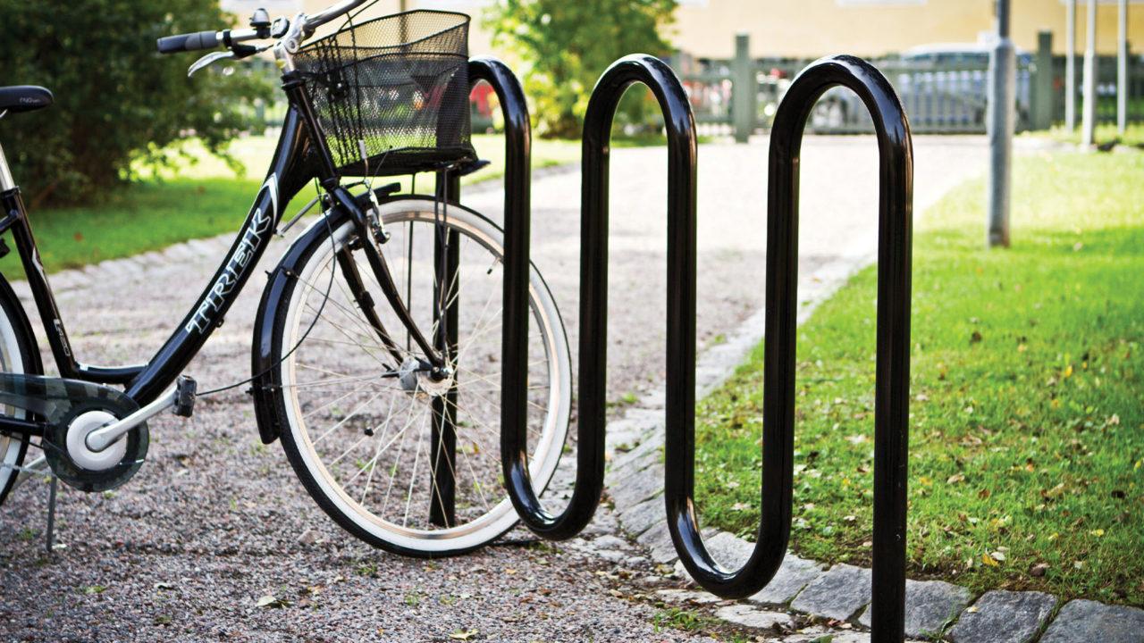 Lappset Park - Fahrradständer