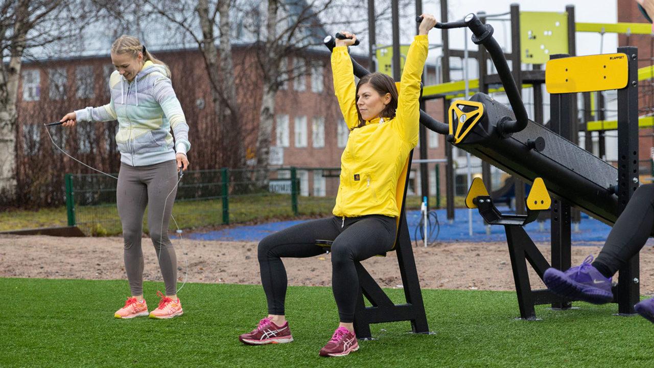 Lappset Sisu - Outdoor Fitnessgeräte