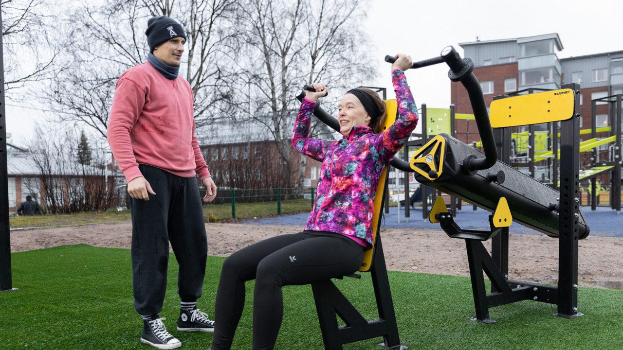 Sisu Fitness - Überkopfpresse