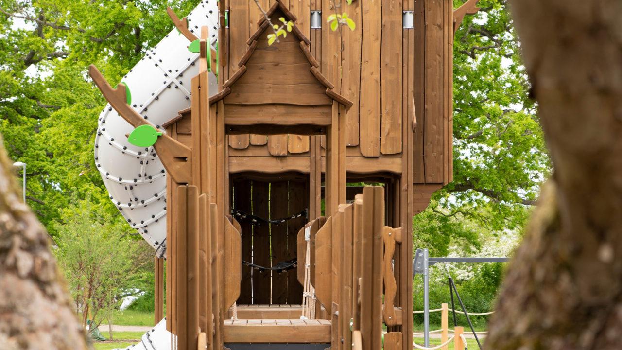 Erinnern Sie sich an die Baumhäuser, von denen Sie immer geträumt haben?