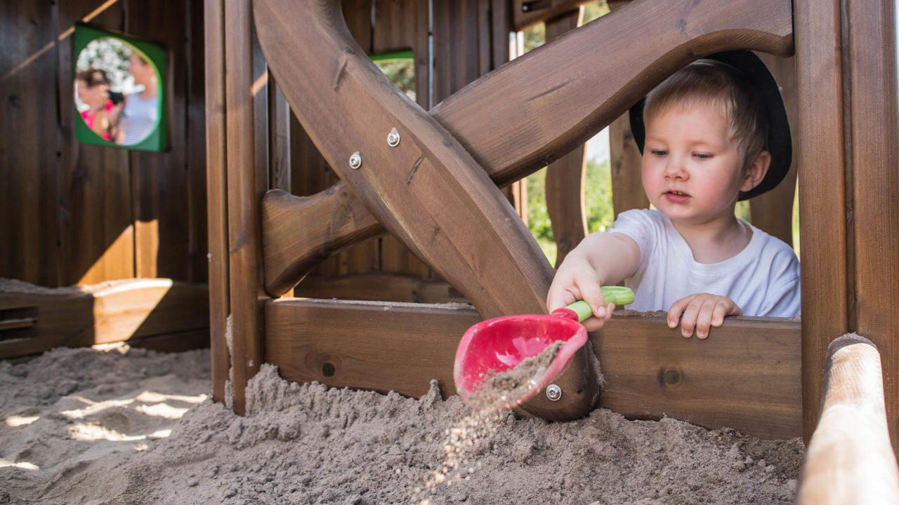 Alle lieben Sandkästen, nicht wahr?