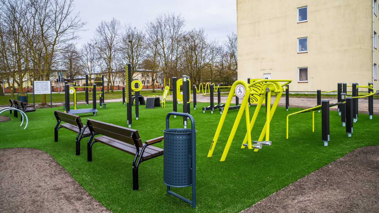 Lappset - Seniorenpark mit Fitnessgeräte